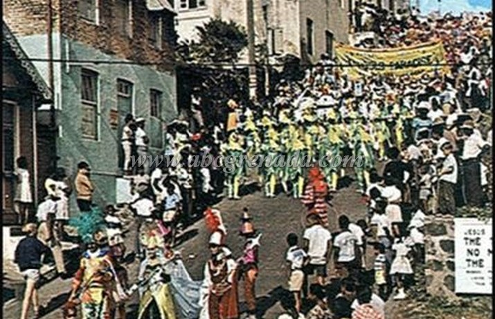 Market Hill Carnival Tuesday c. TBA masquerades  & spectators