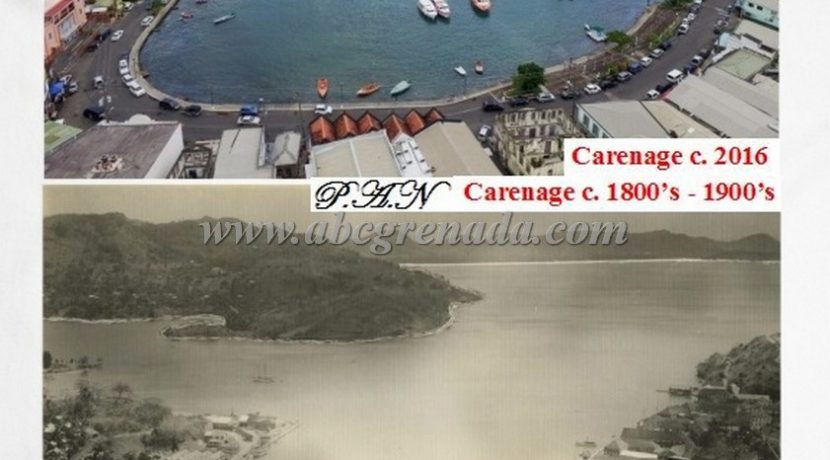Carenage Comparison c. 1900's & 2016