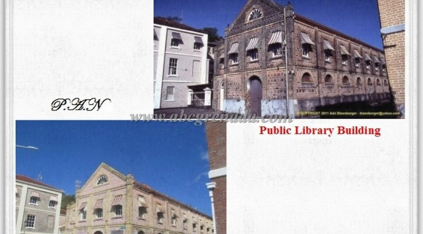 Carenage c. 1928 & 2016 Library Comparisons