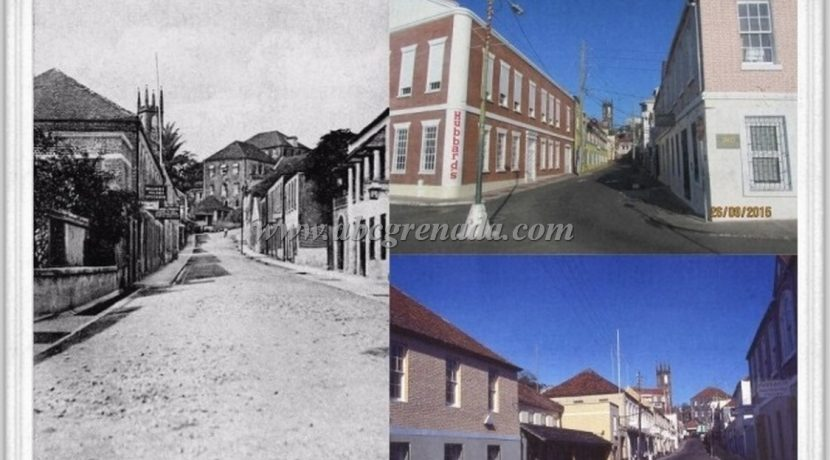 Young Street c. 1908 - 1982 & 2015 Comparisons