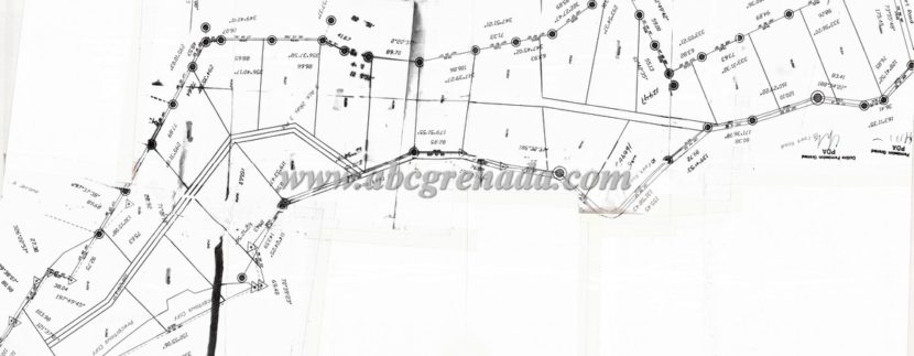 sub division plan golf course